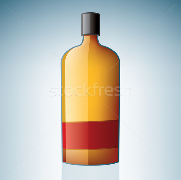 Bourbon Bottle Stock photo © Vectorminator