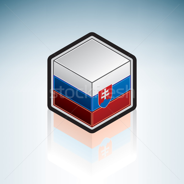Slovakia { Europe } Stock photo © Vectorminator