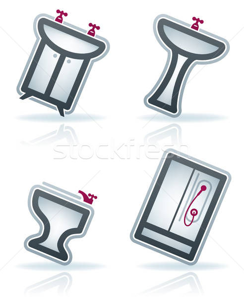 Bath Utensils Stock photo © Vectorminator