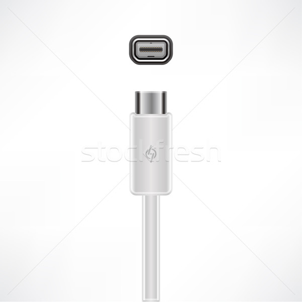 Thunderbolt Port Stock photo © Vectorminator