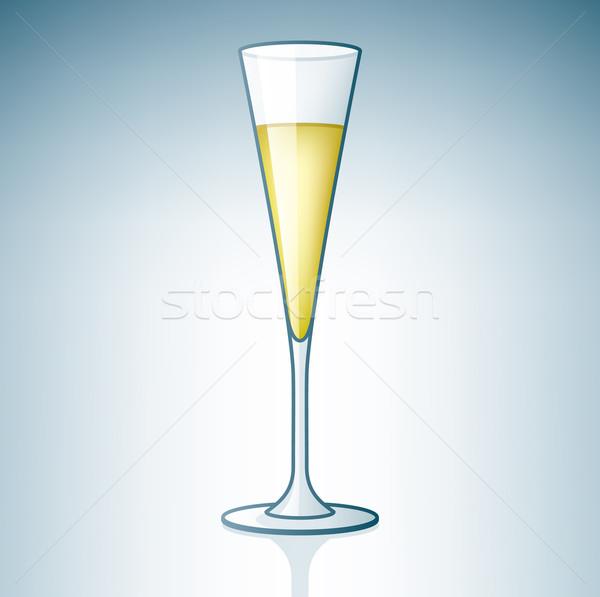 Stock photo: Champaign / Sparkling Wine Glass