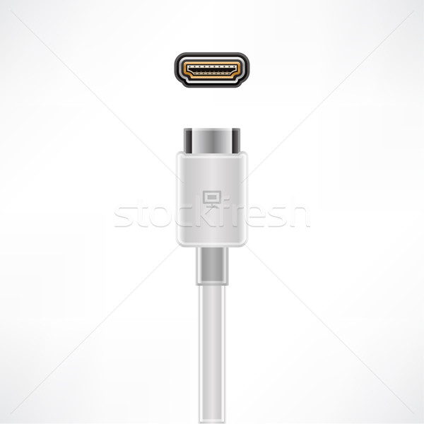 HDMI Cable Stock photo © Vectorminator