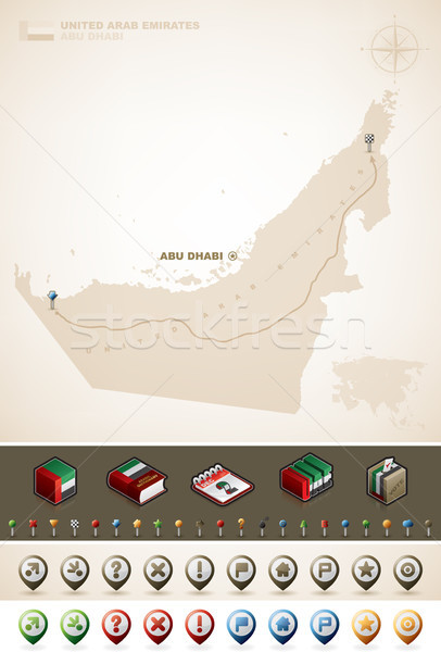 United Arab Emirates Stock photo © Vectorminator
