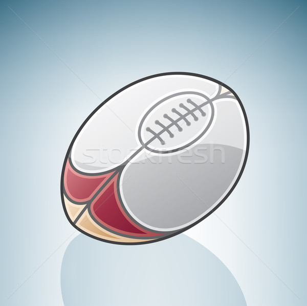 Rugby Ball Stock photo © Vectorminator