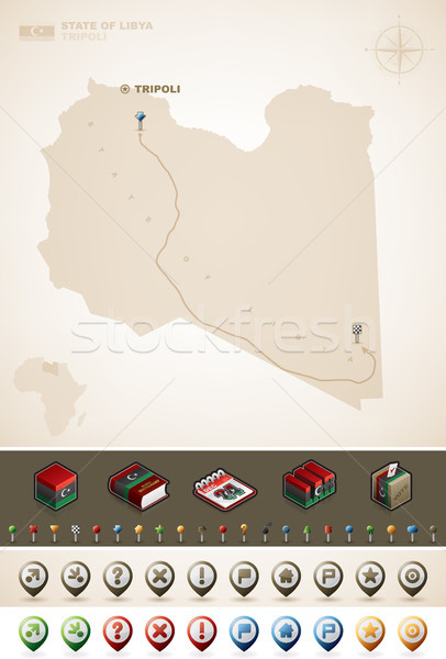 Libya Stock photo © Vectorminator