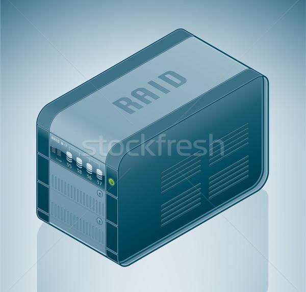 Internet Server / Data Center Stock photo © Vectorminator