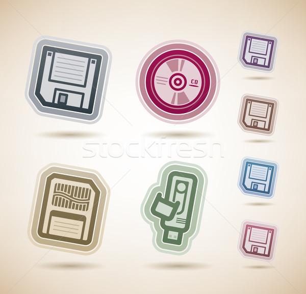 Computer Parts Stock photo © Vectorminator