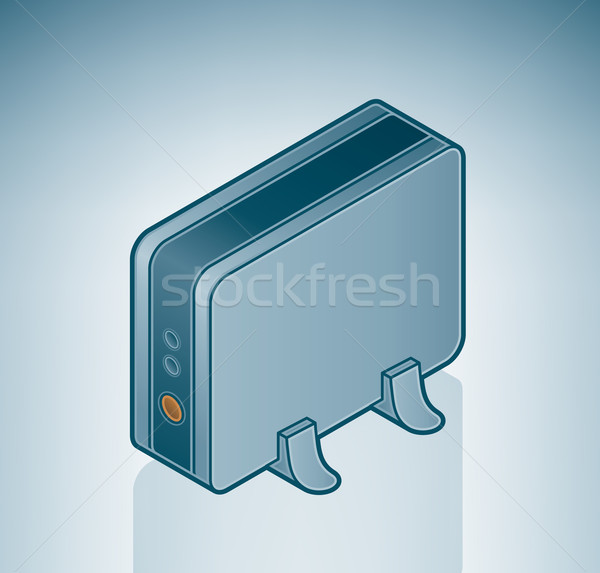 USB External Drive Stock photo © Vectorminator