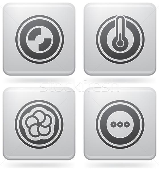 Miscellaneous Platinum Icons Stock photo © Vectorminator