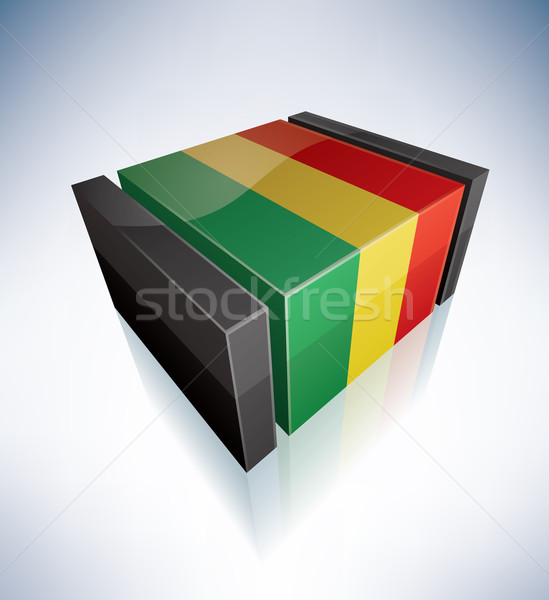 3D флаг Боливия Карибы флагами Сток-фото © Vectorminator