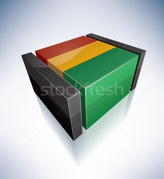 Republic of Guinea Stock photo © Vectorminator