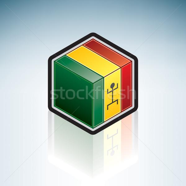 Mali Federation { Africa } Stock photo © Vectorminator