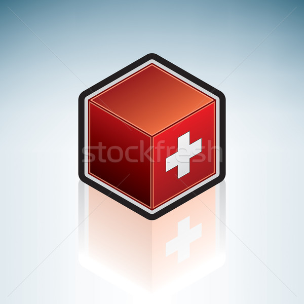 Switzerland { Europe } Stock photo © Vectorminator