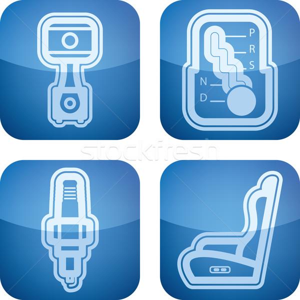 Auto accessori pistone automatico Foto d'archivio © Vectorminator