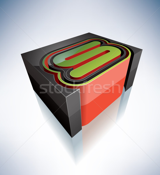 3D letters: S Stock photo © Vectorminator