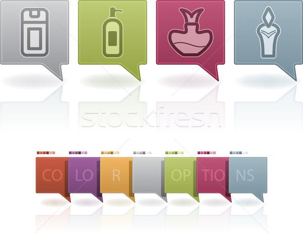 Bath utensils Stock photo © Vectorminator