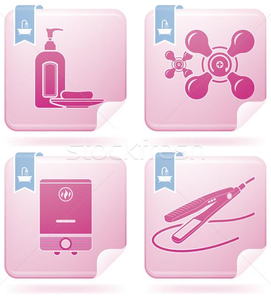 Bathroom Appliances Stock photo © Vectorminator