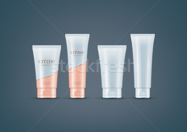 Cream Tubes mock-up set Stock photo © Vectorminator