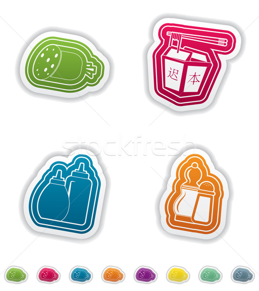 Food & drinks Stock photo © Vectorminator