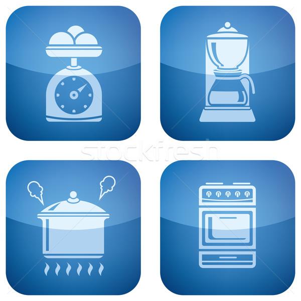 Stock photo: Kitchen Utensils