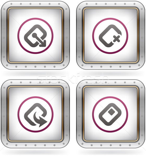 Computer Software and Hardware Icons Stock photo © Vectorminator