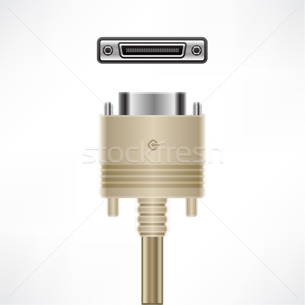 SCSI Cable Stock photo © Vectorminator