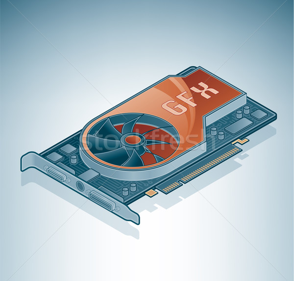 Graphics Card (GPU) Stock photo © Vectorminator