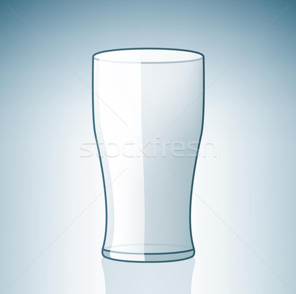 Vuota birra vetro alcol Foto d'archivio © Vectorminator