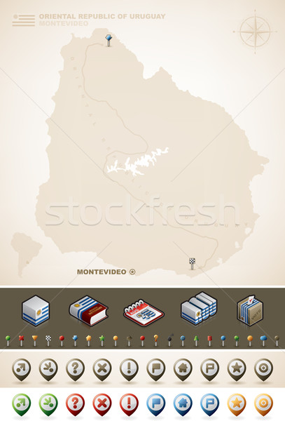 Oriental Republic of Uruguay Stock photo © Vectorminator