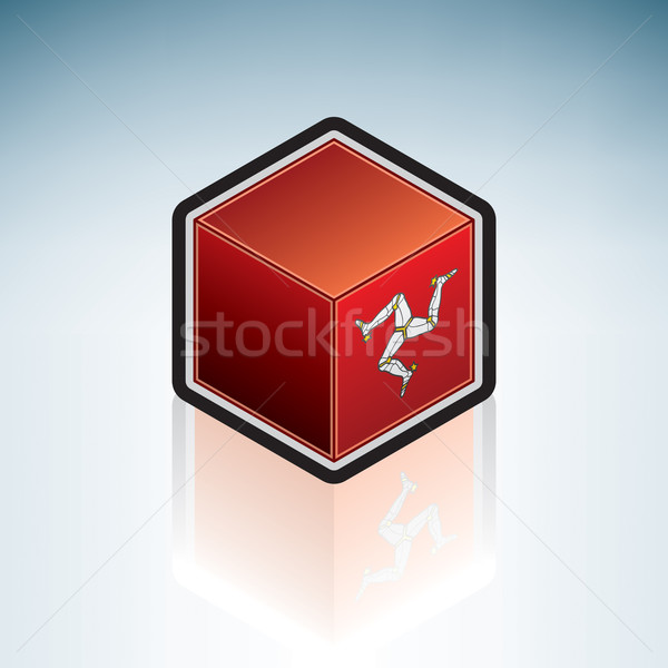 Isle of Man { Europe } Stock photo © Vectorminator