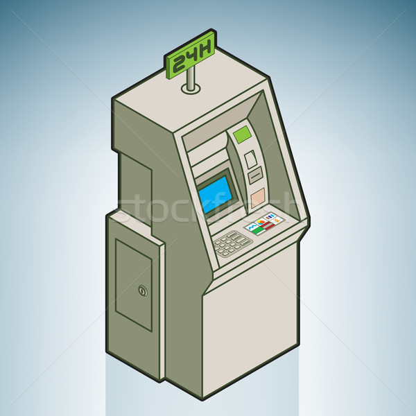 Street Vending Machine Stock photo © Vectorminator
