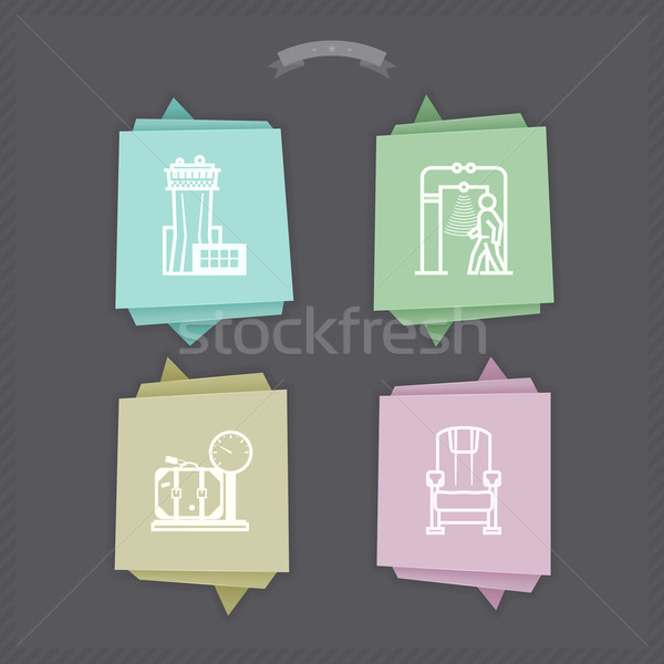 Travel and Airport Stock photo © Vectorminator
