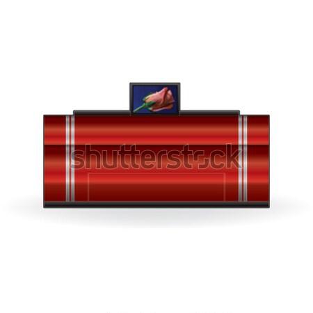 Mürekkep püskürtmeli yazıcı ev renk fotoğraf Stok fotoğraf © Vectorminator