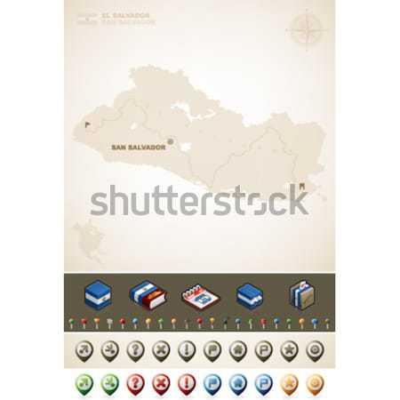República Honduras norte américa mapas Foto stock © Vectorminator
