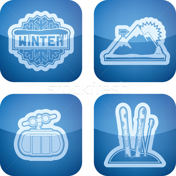 Winter Stock photo © Vectorminator
