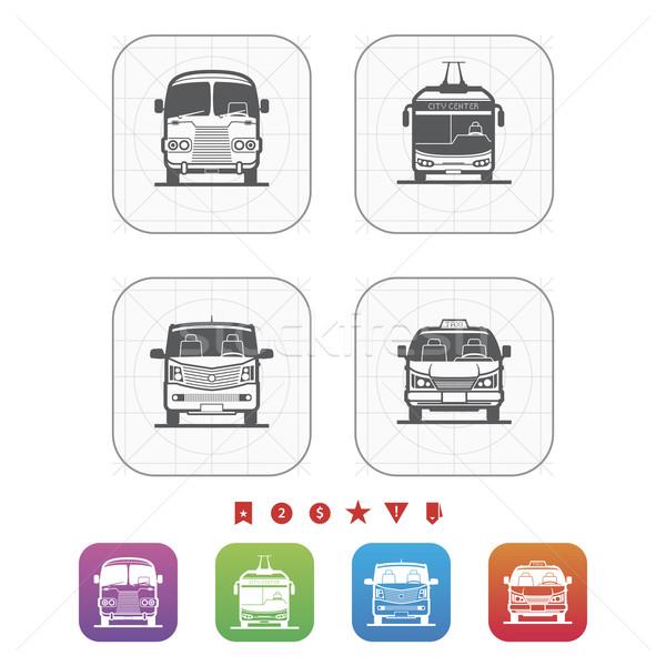транспорт продовольствие объекты другой Сток-фото © Vectorminator