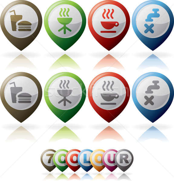 Misc Internet Icons Stock photo © Vectorminator