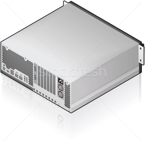 Server Unit Stock photo © Vectorminator