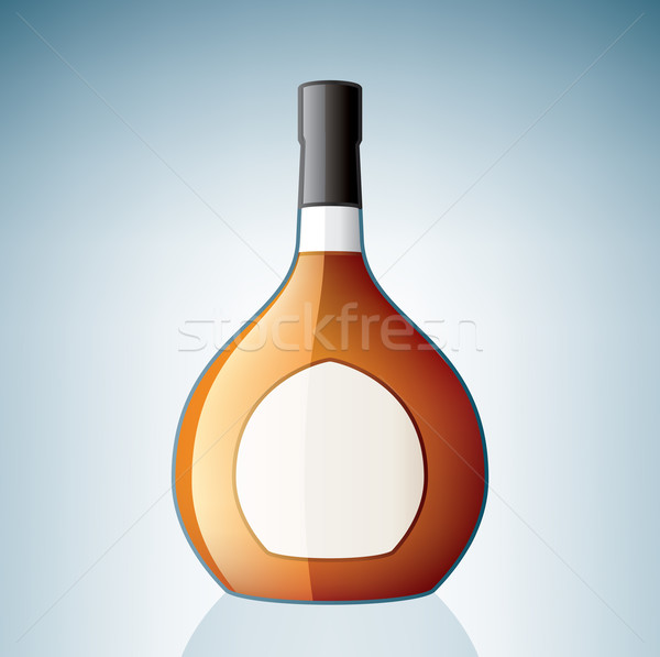 Cognac Bottle Stock photo © Vectorminator