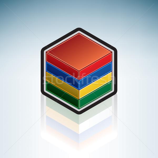 Mauritius { Africa } Stock photo © Vectorminator