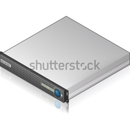 Low Profile Server Unit Stock photo © Vectorminator
