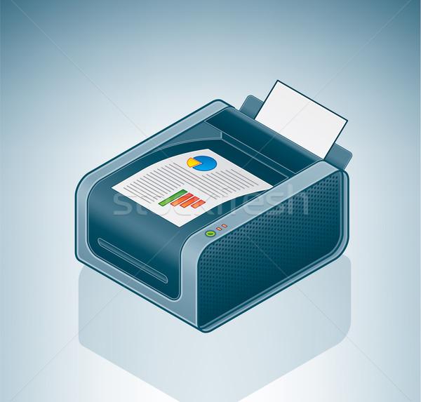Color Laser Printer Stock photo © Vectorminator