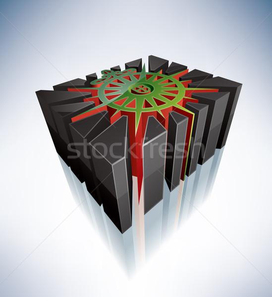 3D religión símbolos comunión mundial Christian Foto stock © Vectorminator