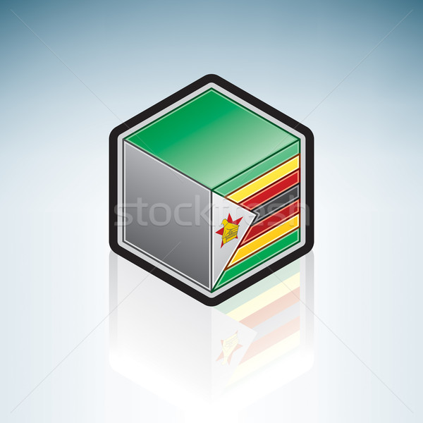 Zimbabwe { Africa } Stock photo © Vectorminator
