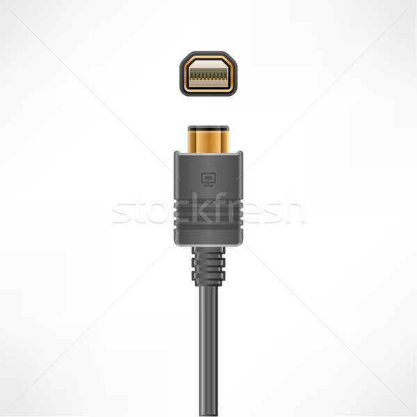 Mini Display Port Stock photo © Vectorminator