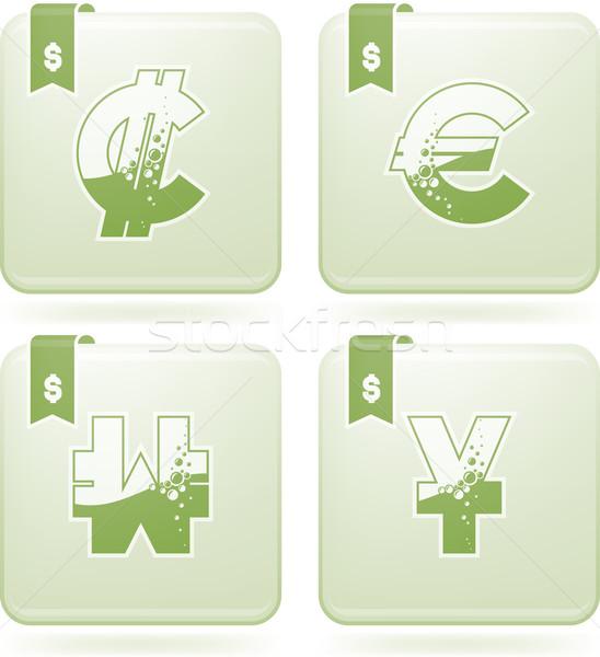 деньги письме здесь право Сток-фото © Vectorminator