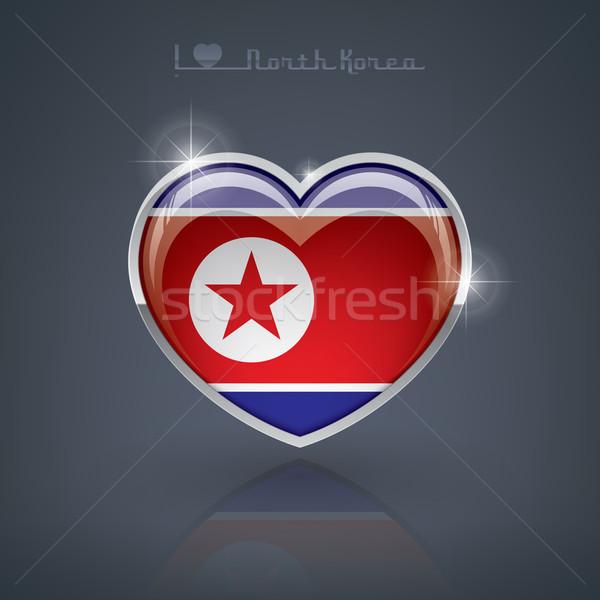 North Korea Stock photo © Vectorminator