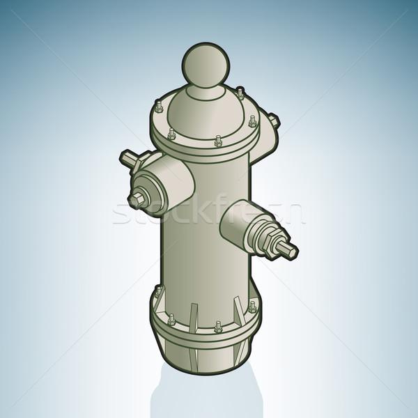Fire hydrant Stock photo © Vectorminator