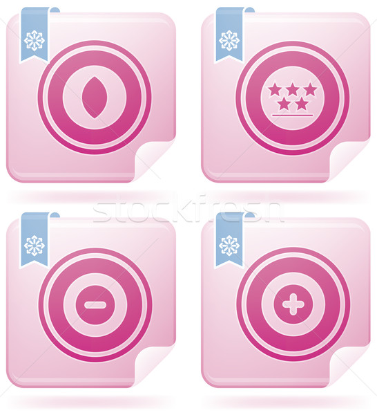 Miscellaneous Flamingo Icons Stock photo © Vectorminator