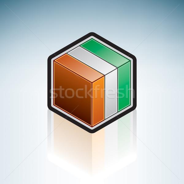 Côte d'Ivoire { Africa } Stock photo © Vectorminator